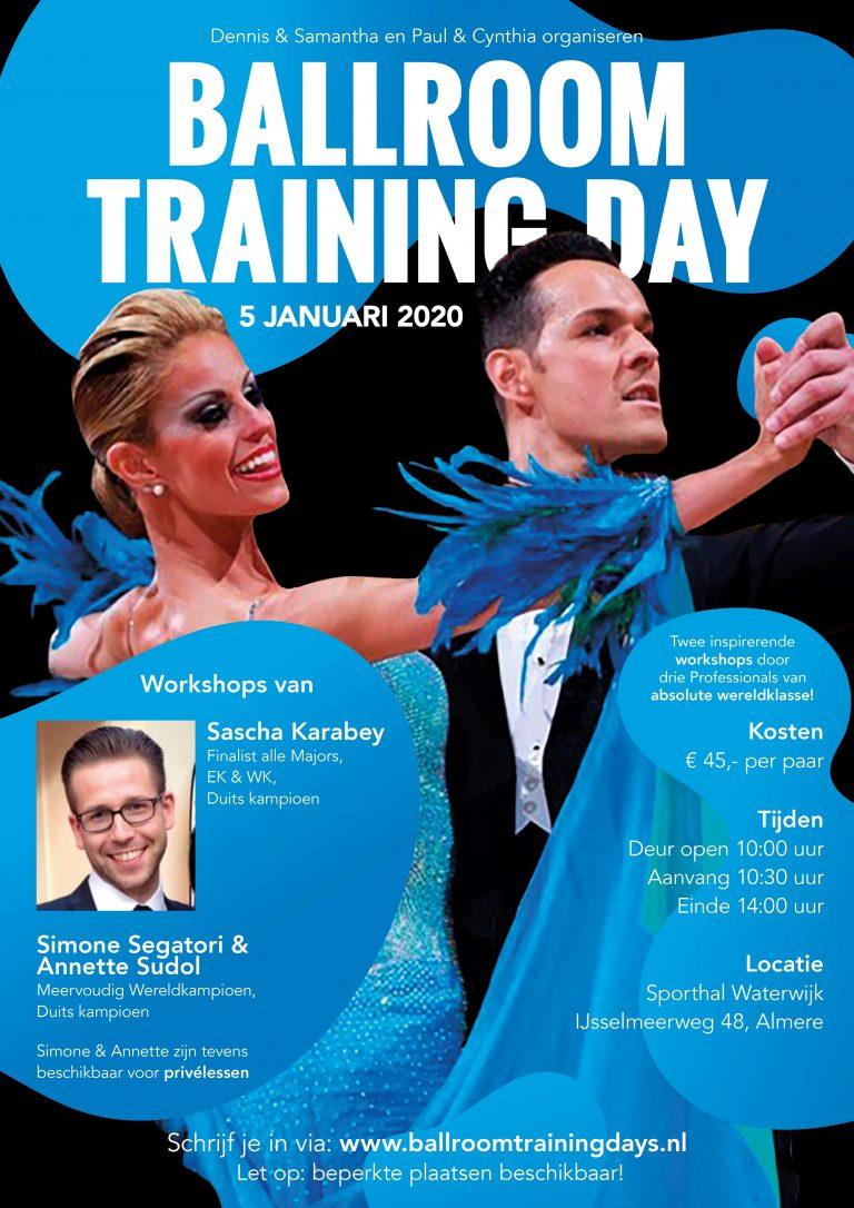 Paul-Cynthia | Ballroom Training Day Januari 2020