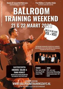Ballroom Training Weekend 2020
